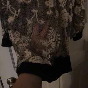 Maurices Tops - Laced see through shirt